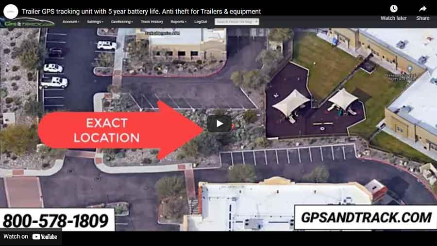 trailer tracker video